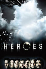 HEROES - NBC TV Series Cast Promotional Poster ~ 24x36