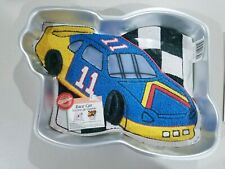 New listing Race Car Cake Pan with Picture and Instructions