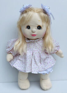 Vintage Pre-owned My Child Doll Mattel Inc 1985 (No Green Heart,Brown eyes)