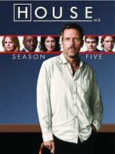 HOUSE MD SEASON FIVE 5 New Sealed 5 DVD Set