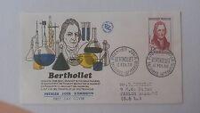 FRANCE PREMIER JOUR FDC YVERT 1149 BERTHOLLET 35F TALLOIRES 1958