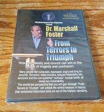 Dr. Marshall Foster / Kerby Anderson (DVD) Worldview Weekend messages NEW