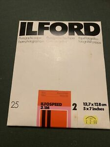 ILFORD ILFOSPEED RC DELUXE IS2.1M GLOSSY  5 X 7 PHOTOGRAPHIC PAPER Few Missing