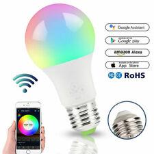 WiFi Smart E27 LED Light Bulb Dimmable Wake-Up Lights for Alexa Google Assist RH