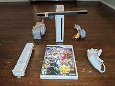 Nintendo Wii Console/System Bundle RVL-001 Super Smash Bros Gamecube Compatible!
