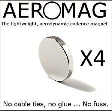 X 4 nascosti-STEALTH-DISCRETO-Sensore di cadenza MAGNETE. x 4 Garmin Cateye Aero
