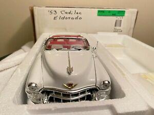 Danbury Mint 1953 cadillac eldorado ''NEW,SEALED,MINT,CLASSIC DISPLAY MODEL OWN