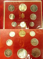 1976 Vatican 8 piece Mint set(1 Silver) - Nice