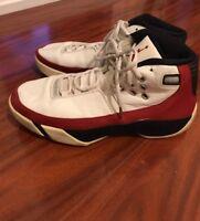 Nike Men's Air Jordan Red White Retro Sneakers Mens Size 12