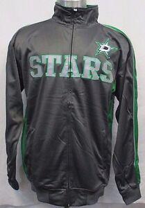 Dallas Stars Men's Big & Tall Gray Full-Zip Track Jacket NHL MSRP $79.99