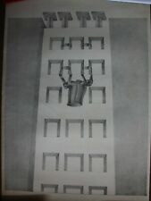 Cesar COFONE - Lithographie lithograph litografia signée EA