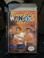 River City Ransom (Nintendo Entertainment System, 1989) CIB