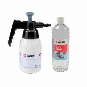 Wurth Pump Bottle & Brake Cleaner Multi-Pack Offer