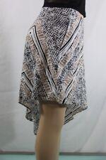 NEW Women's BCBG Skirts Twine Multi Asymmetrical SZ 6=28 100%Authentic