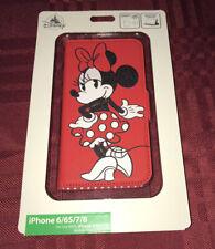 Disney Parks Minnie Mouse Apple Iphone 6/6S/7/8 Case Wallet NEW 2020