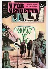 DC - V FOR VENDETTA Vol. V Of X (#5) - NM 1988 Vintage Comic