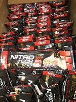 MuscleTech Nitro Tech 11g  Protein Bars Lot Of 100 Expried 07/2018