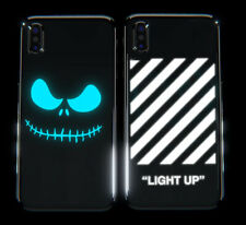 Light Up LED Luminous Lighted Color Changing Phone Case for iPhone X - 8 Designs