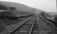 PHOTO  TAFF MERTHYR HALT RAILWAY STATION VIEW OF THE COLLIERY HALT IN 1976 1