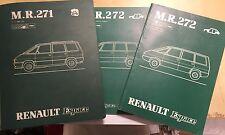 RENAULT ESPACE MPV OEM FACTORY WORKSHOP MANUAL SET Inc' ENGINES & BODYWORK 1987>