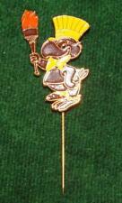 "RARE 1984 Los Angeles Olympic Pin - Black ""Sam The Eagle"" Stick Pin"
