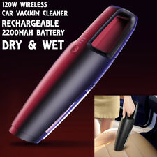 120W Cordless Hand Held Vacuum Cleaner Small Mini Portable Car Home Wireless New