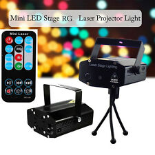 LED Stage Laser Strobe Projector Sound Activated Light for DJ Party Club Pub