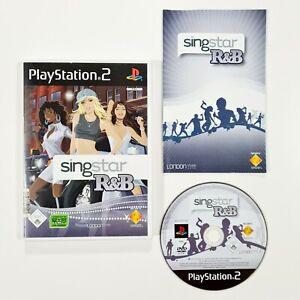 SONY PlayStation 2 Spiel SINGSTAR R&B dt. Amy Winehouse/Rihanna/Whitney Houston