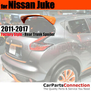 Primer ABS Rear Trunk Aero Roof Spoiler Wing For 2011-2017 Nissan Juke Wagon