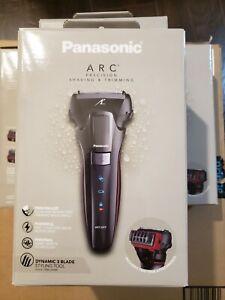 Panasonic Hybrid Wet & Dry Cordless Men's Trimmer & Detailer, Black ES-LL41-K