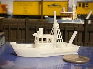 SME Platinum Series Fishing Trawler N Scale 1:160 UNPAINTED - Museum Quality