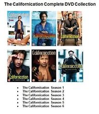 Californication Complete Series Collection Season 1 2 3 4 5 6 Dvd Set New Uk R2