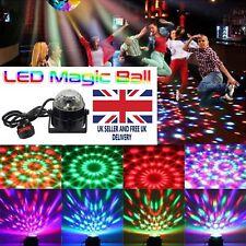 UK Disco DJ Party Club stade boule de cristal effet RGB lumière tournante d'Éclairage DEL