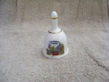 Collectible Small Victoria Canada Hand Held Porcelain Bell