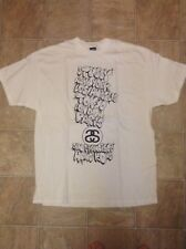 2006 stussy KEVIN LYONS world tour t shirts size XL VERY NICE!