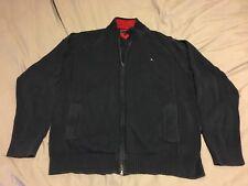 Tommy Hilfiger Men's Zip Up Sweater 2 Pockets XXL Navy Blue