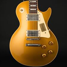 Gibson Custom Shop'57 Les Paul Goldtop 60th Ann. vos en oro antiguo #77105