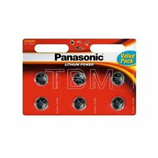 8 x Panasonic CR2025 Batteries Lithium Battery 3V Button Coin Cell 2025 DL2025