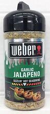 Weber Garlic Jalapeno Sizzlin Hot Seasoning 5.75 oz