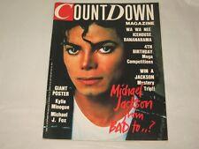 MICHAEL JACKSON - COUNTDOWN MAGAZINE - RARE AUSSIE - 1987