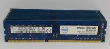Lot of 10 - 4GB DDR3 1333MHz PC3-10600U Desktop DIMM Memory RAM