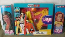 VINTAGE HASBRO GI JOE ACTION TEAM POLISTIL LADJGI LADY G I JANE WINDOW BOX 1975