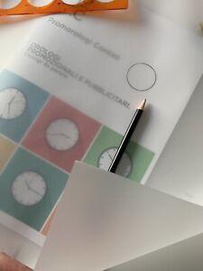 Blocco 100  Fogli Di Carta Lucido Per Disegno Formato A2  : Dim. 42x59,4 Cm C/o