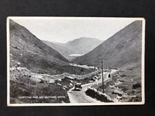 Vintage Real Photo Postcard #TP420: Kirkstone Pass & Brothers Water