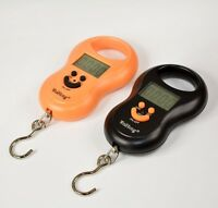 Portable Digital Hanging Scale Fishing Travel Luggage Weight BackLight 50Kg/5g