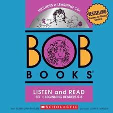 BOB Books Set 1 Bind-up: Books #5-8 + CD by Maslen, Bobby Lynn