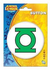 Justice League Button Dc Comics Green Lantern Logo B21