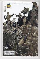Justice League vs Suicide Square #1 DC Comics ( B&W Midtown Comics Variant )