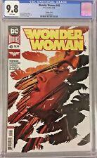 Wonder Woman (2018) #40 CGC 9.8 Jenny Frison Variant Cover!