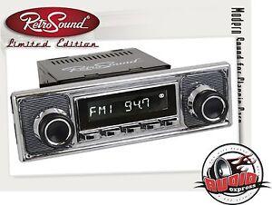"Retro Sound ""San Diego"" Komplett-Set Becker Digital Radio Oldtimer DAB+/USB/BT"